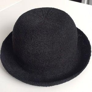 TOPSHOP Black Bowler Hat